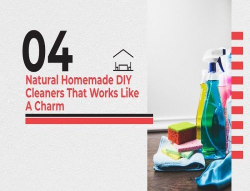 4 Natural Homemade DIY Cleaners That Works Like A Charm